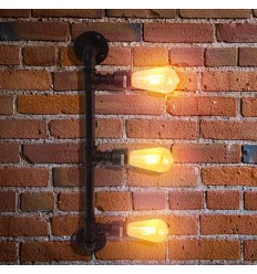 Large Wall Light 3 lights 64 cm - Jupiter