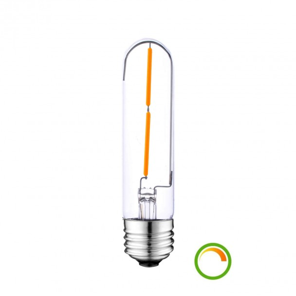 Thin LED filament bulb E27 4W