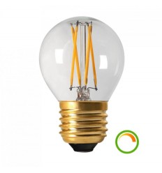 Small LED Filament Light Bulb - 4W E27 Cap