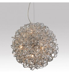 Pendant light chrome ball - Magpie
