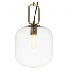 Refined glass lantern pendant light - Mimosa