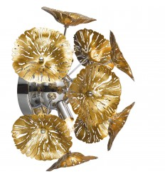 Gold bindweed wall light - Aion