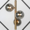 Diamond and bright spheres pendant light - Kepler