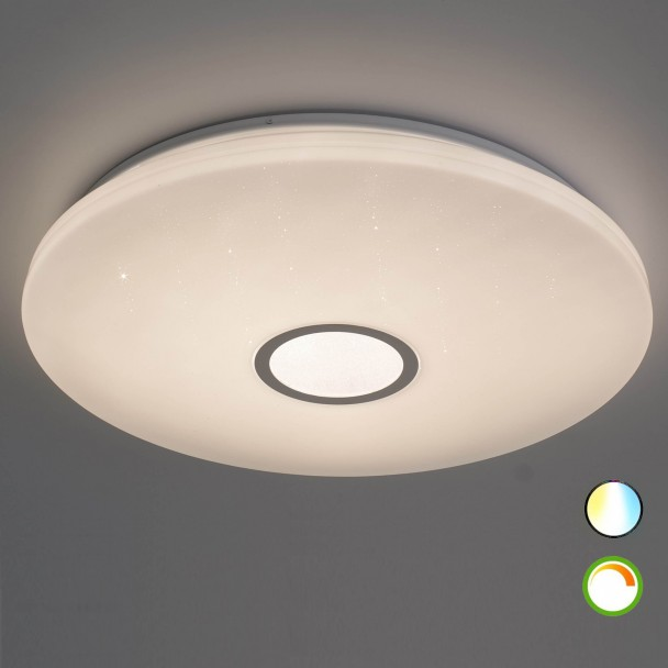 40W LED ceiling light adjustable brightness with remote control