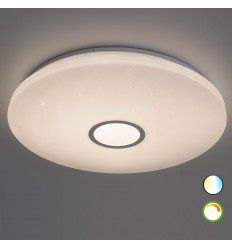 80W large LED ceiling light adjustable brightness with remote control