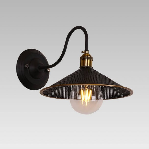 Elegant old school wall light - Hypnos