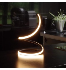 LED ribbon style table lamp with touch switch - Laika