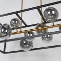 bronze pendant light 9 lights - Qez