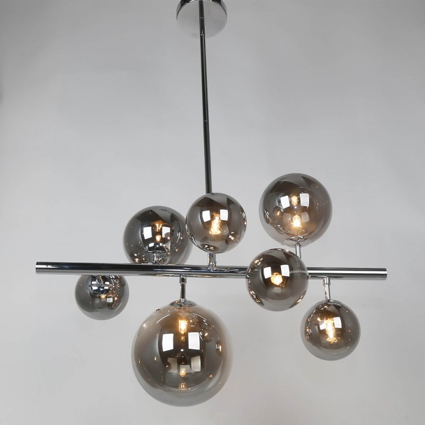 Long pendant light with multiple spheres - Chennai