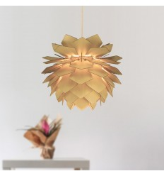 Modern feather style wooden pendant lamp - Nagoya