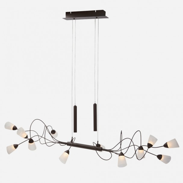 pendant light glass cylinders - Domi