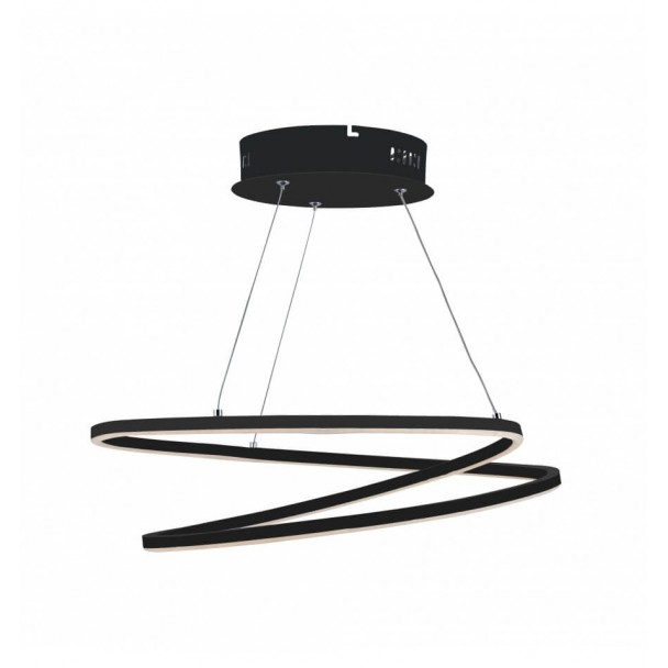 LED pendant light trend 2 rings intertwined - Méla