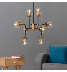 industrial chandelier arm 8 - Zenith