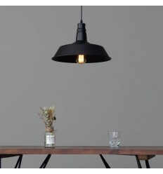 pendant light black shade