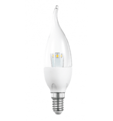 LED bulb flame E14 - 3W - warm white