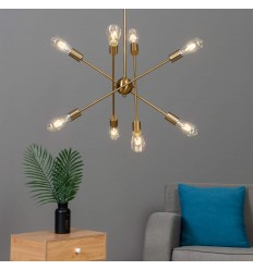 pendant light finish brass - Sagitta
