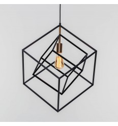 complex geometric edges pendant light - Rani