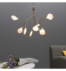 pendant light styple small golden branch - Arsinoe
