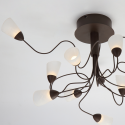 interior wall light to large table - Domi