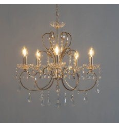Golden crystal chandelier - Pavia