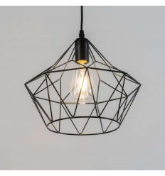 cage-like pendant light - Cope
