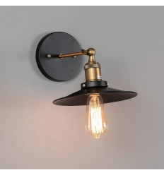 interior wall light black vintage bronze - Scopa
