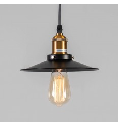 pendant light retro black and bronze - Scopa