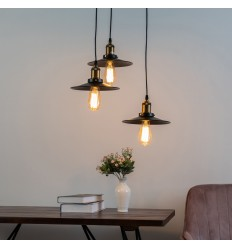 pendant light 3 lamps - Triple Scopa