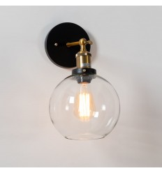 interior wall light retro round glass - Olivia - Olivia