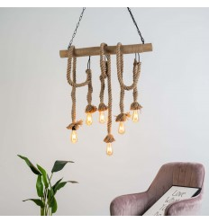 rope pendant light - Zephyr