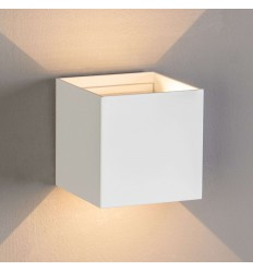 Design LED Wall Cubic - Cubic blanc