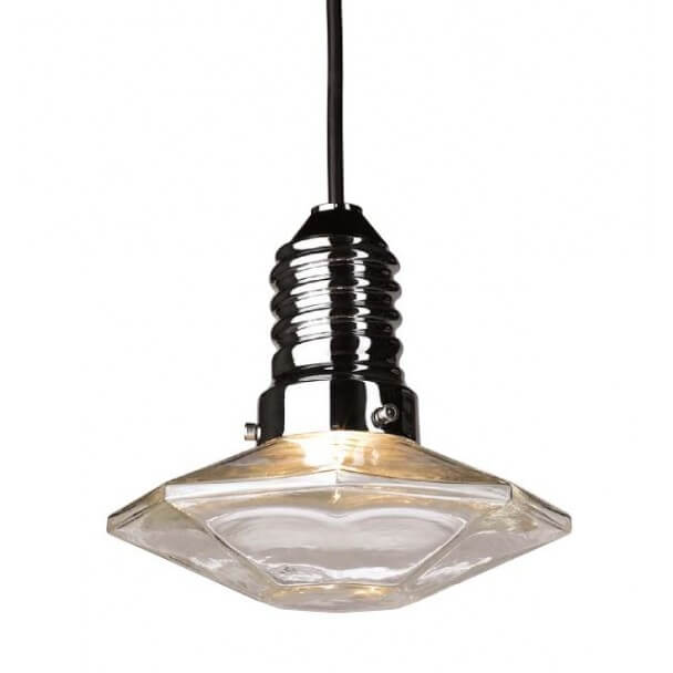 Pendant light - LED Jersey glass design