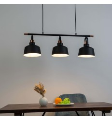 industrial loft Triple pendant light - Musso