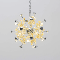 butterfly crystal pendant light to room - Chloé