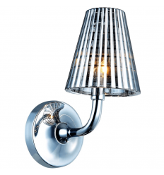 stainless steel and glass sconce - Qom