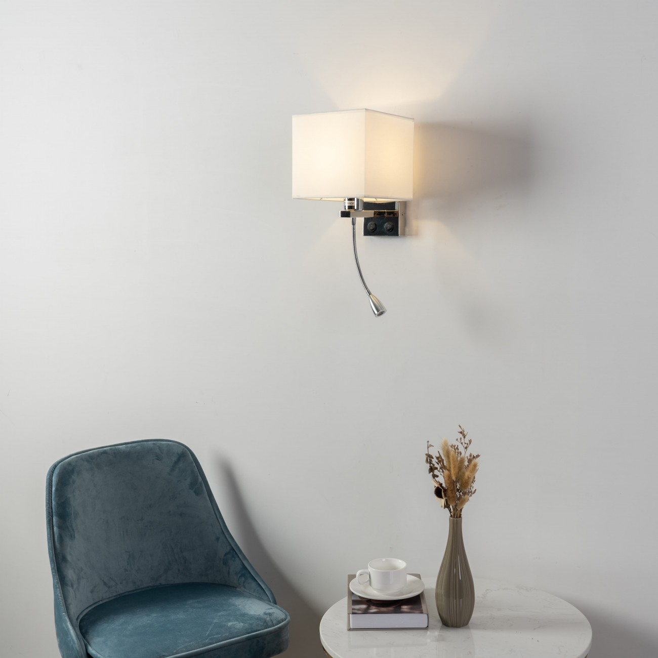 Square Shaped Wall Mounted Reading