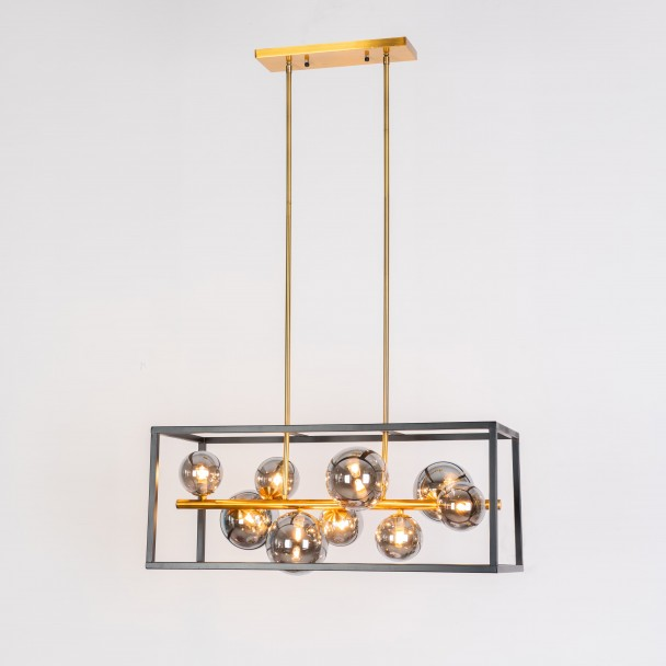 large cage pendant light - Qez