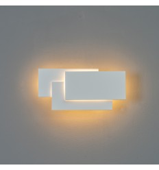 LED lamp with three stylish white rectangles - Trio