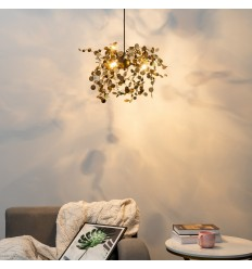 Modern pendant light in brass - Fall