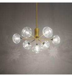 Ultra golden pendant lamp - Erell