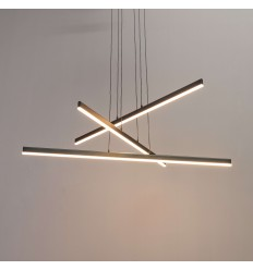 Modern pendant light crossbar 3 - Aina