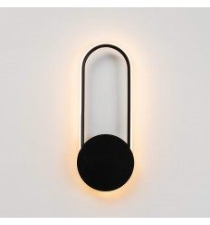 black circle wall lights Pise
