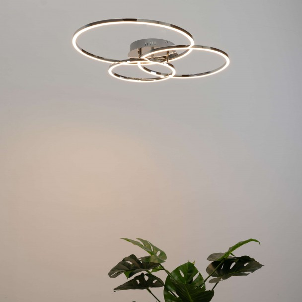 LED ceiling triple circle design - Paciano