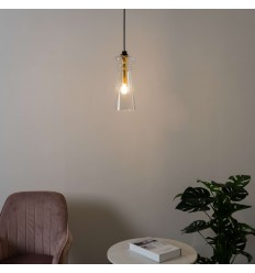 pendant light design glass torch - Vantaa