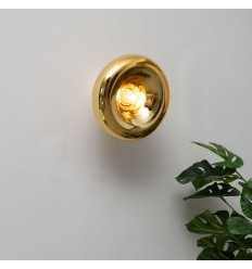 Wall lights design gold - Doha