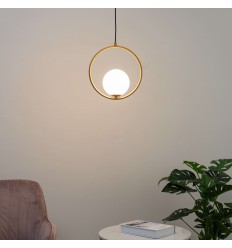 pendant light white ball - Yara