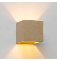 interior wall light concrete cube - Terra