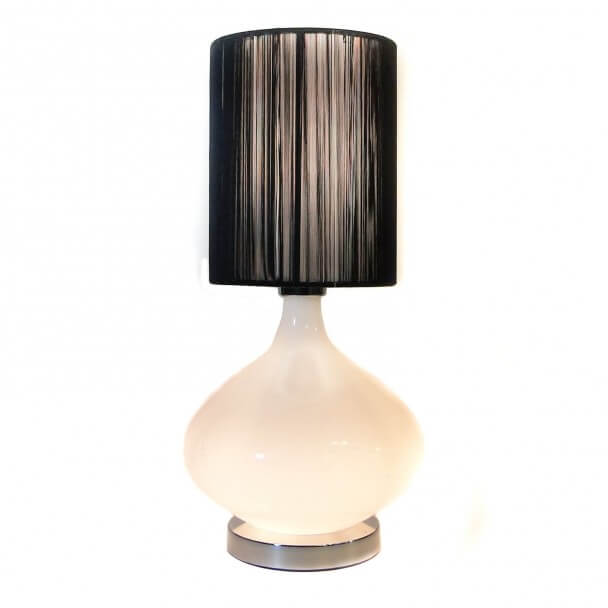 Lampshade - black design H22cm - Geneix