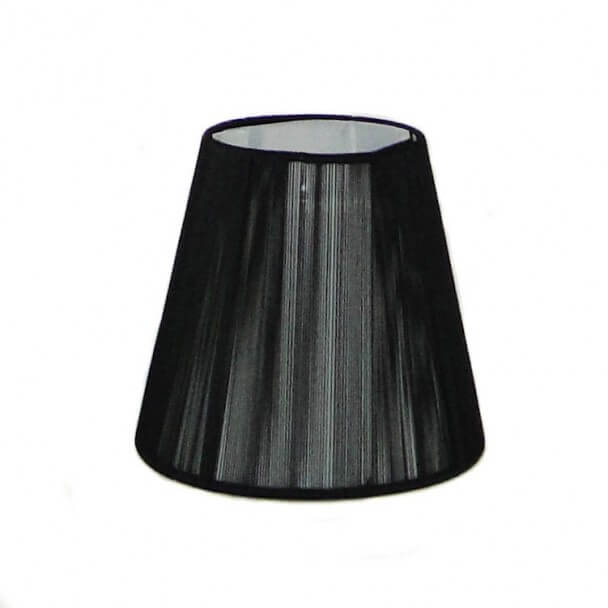 Lampshade - black design for chandelier or Wall light - Nyala