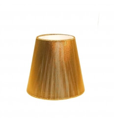 Lampshade - gold design for chandelier or Wall light Lola